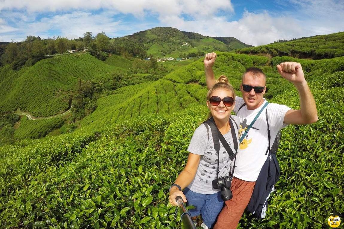 Azja top 10 miejsc wzgórza herbaciane Malezja