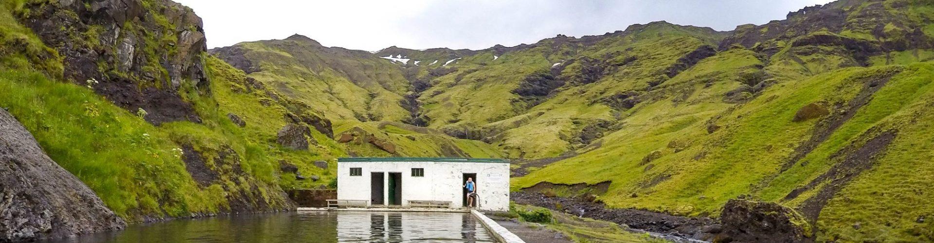 Islandia opuszczony basen