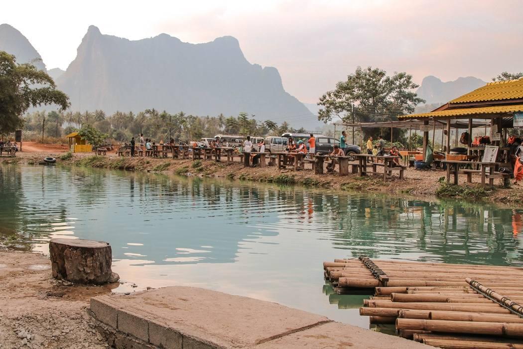 Vang Vieng Blue Lagoon 2