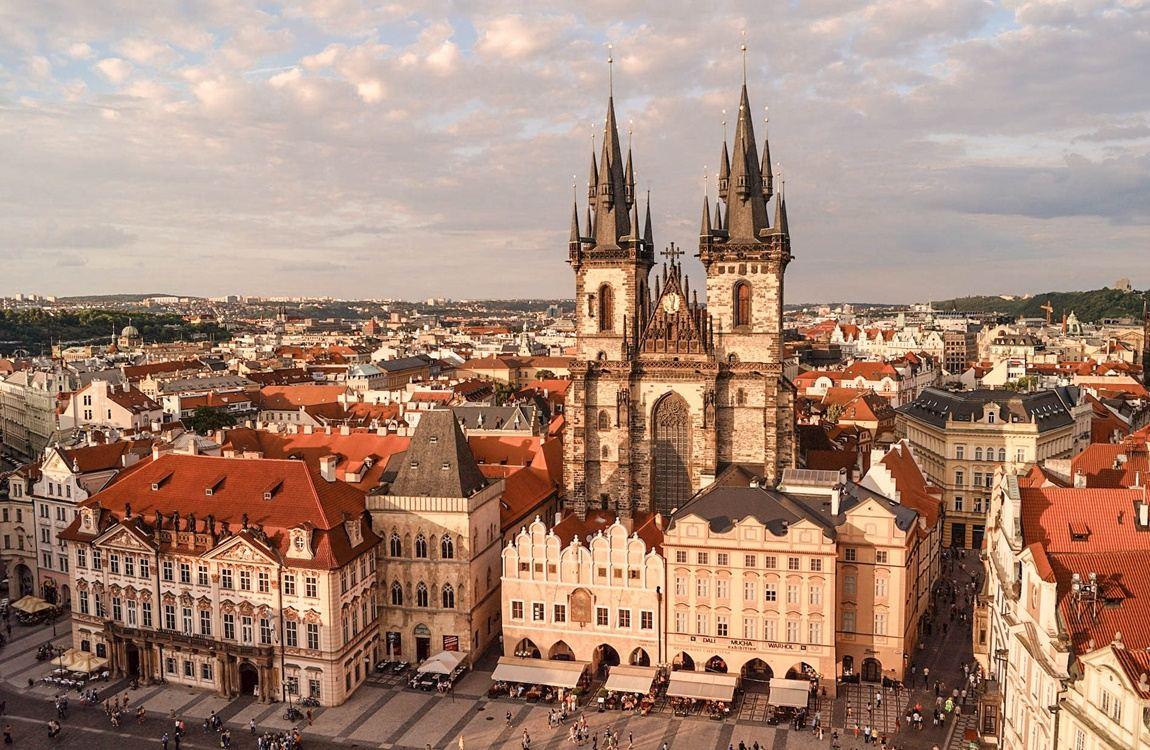 punkty widokowe w Pradze ratusz stare miasto