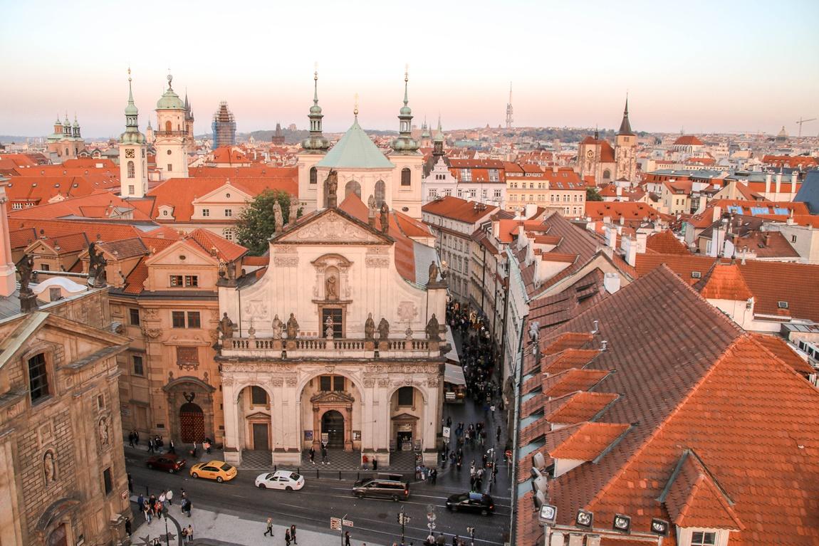 punkty widokowe w Pradze