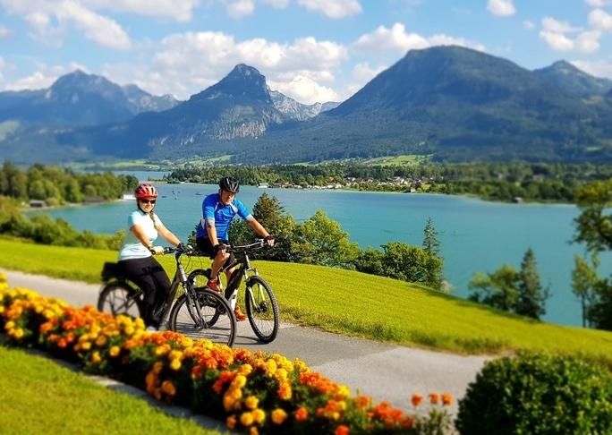 Austria na rowerach