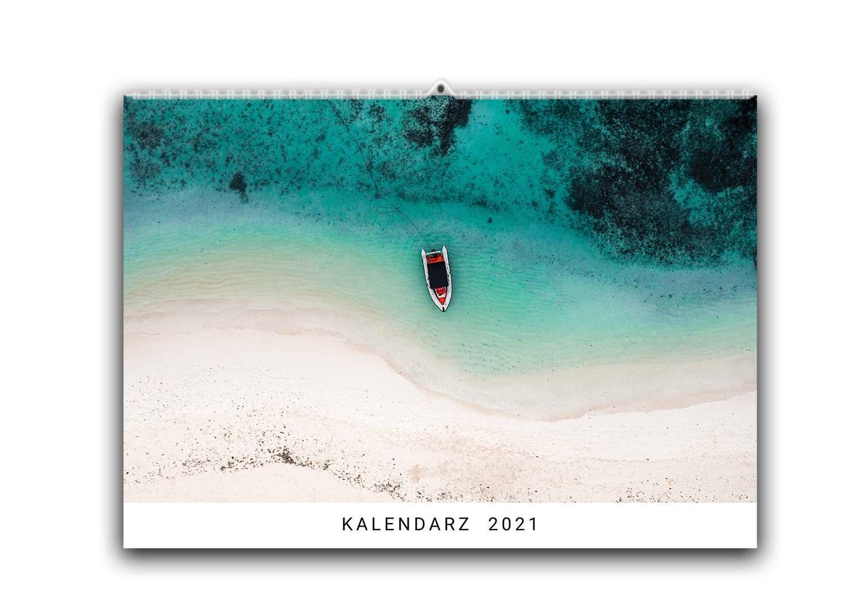prezent dla podróżnika kalendarz