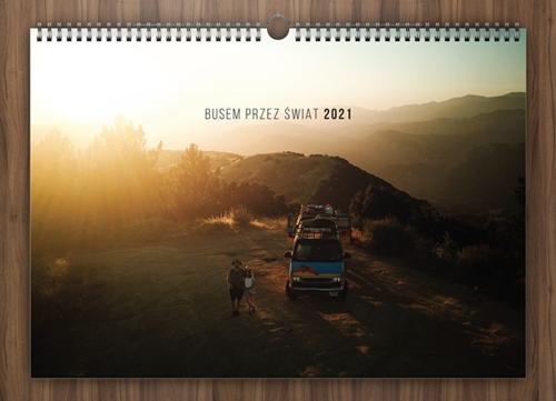 kalendarz busem przez świat