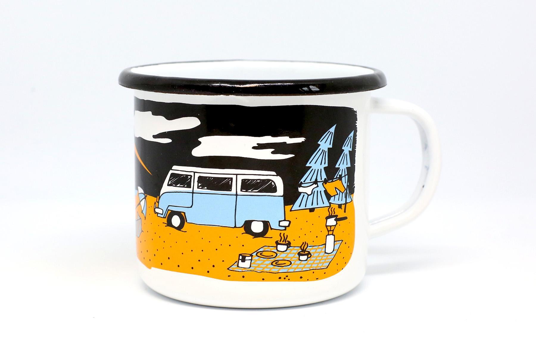 prezent dla podróżnika kupek campingowy