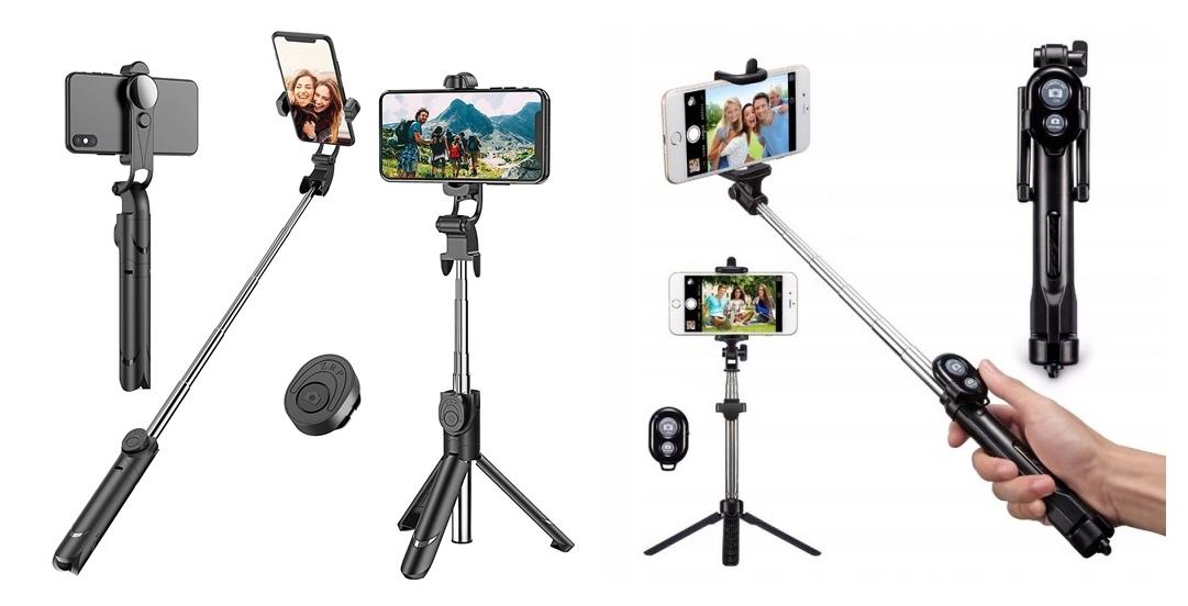 prezent dla podróżnika tripod selfiestick