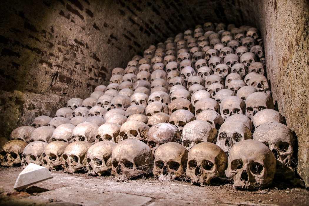 Brno ossuarium kościół św. Jakuba