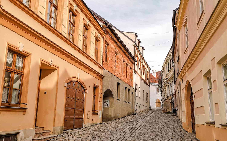 ulica w Znojmo atrakcje