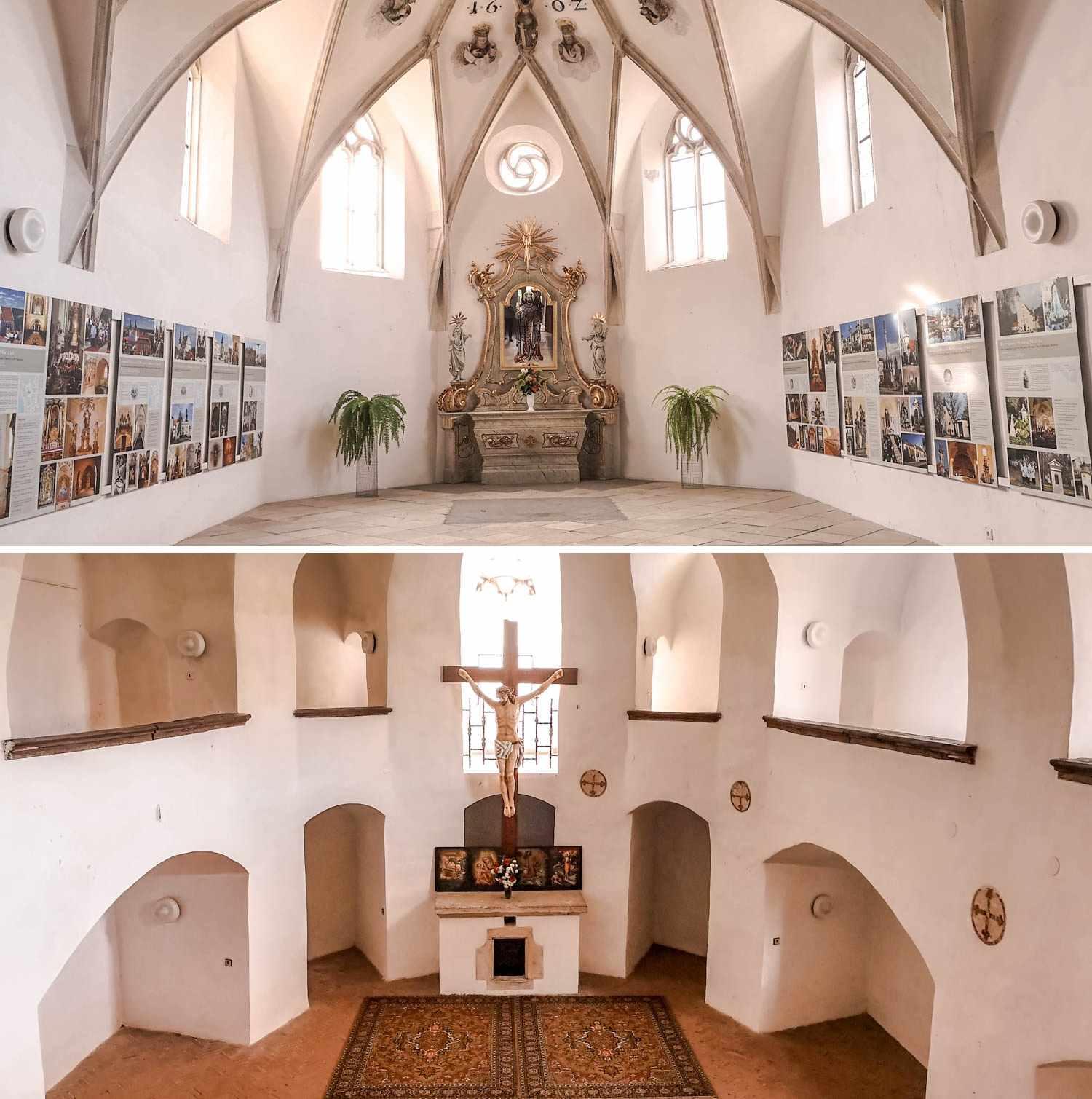 Znojmo kaplica św. Wacława