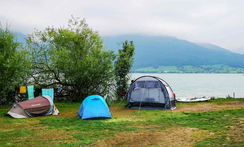 Austria camping Wolfgangsee