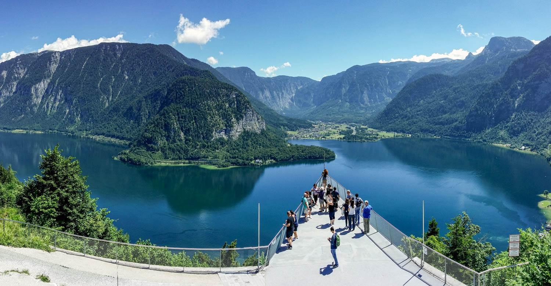 Austria latem Hallstatt