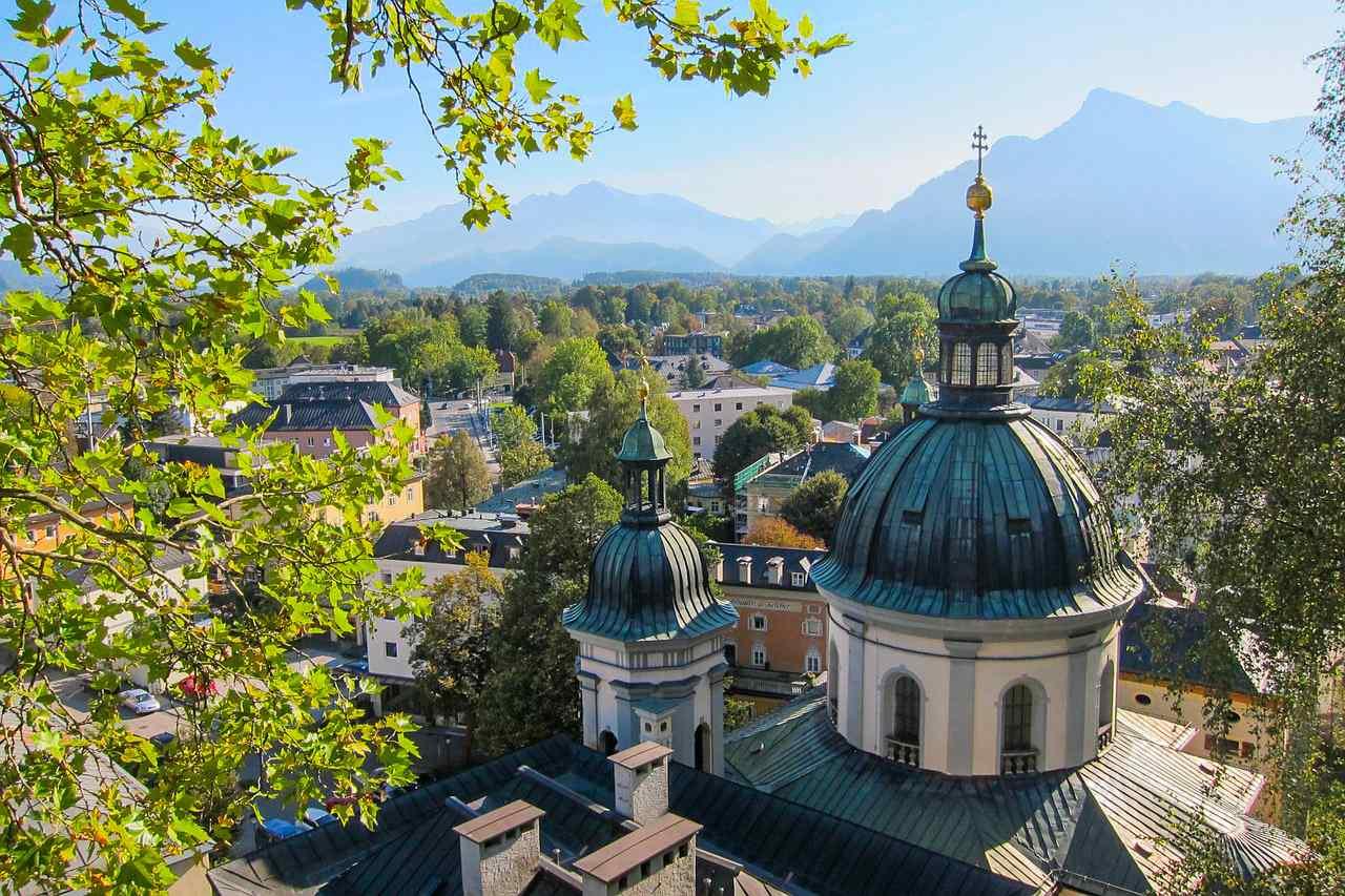 Salzburg Austria latem