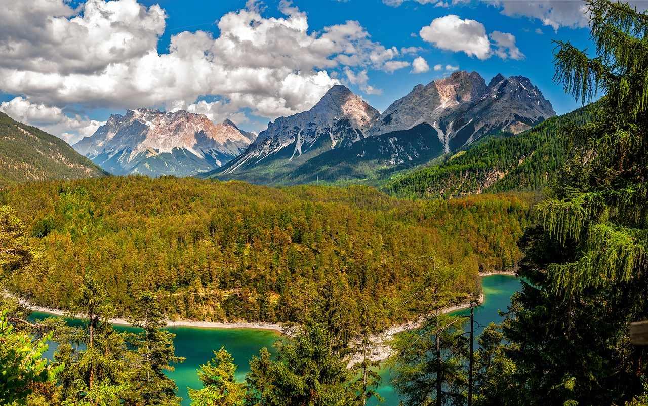 Austria latem szlaki górskie