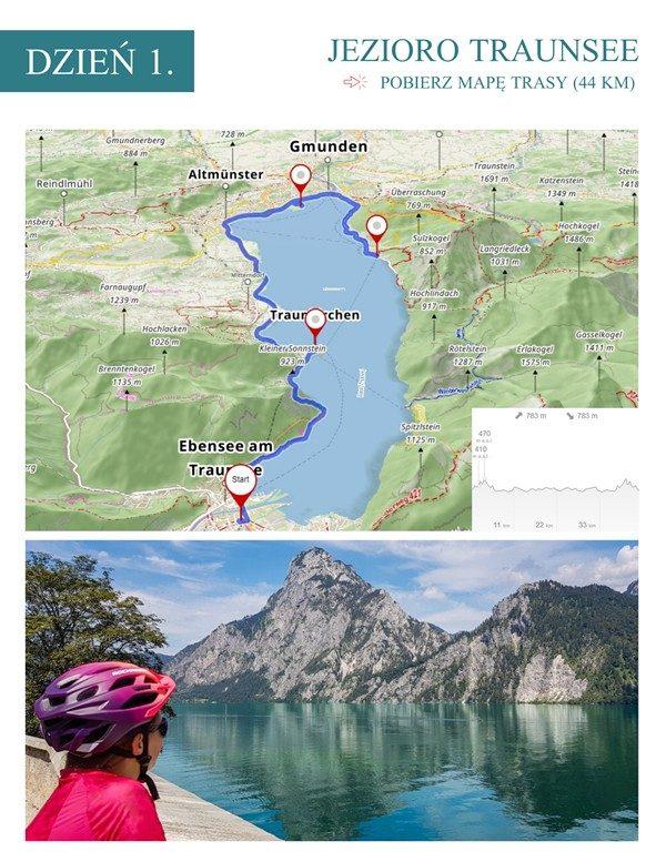 Austria na rowerze dookoła jezior